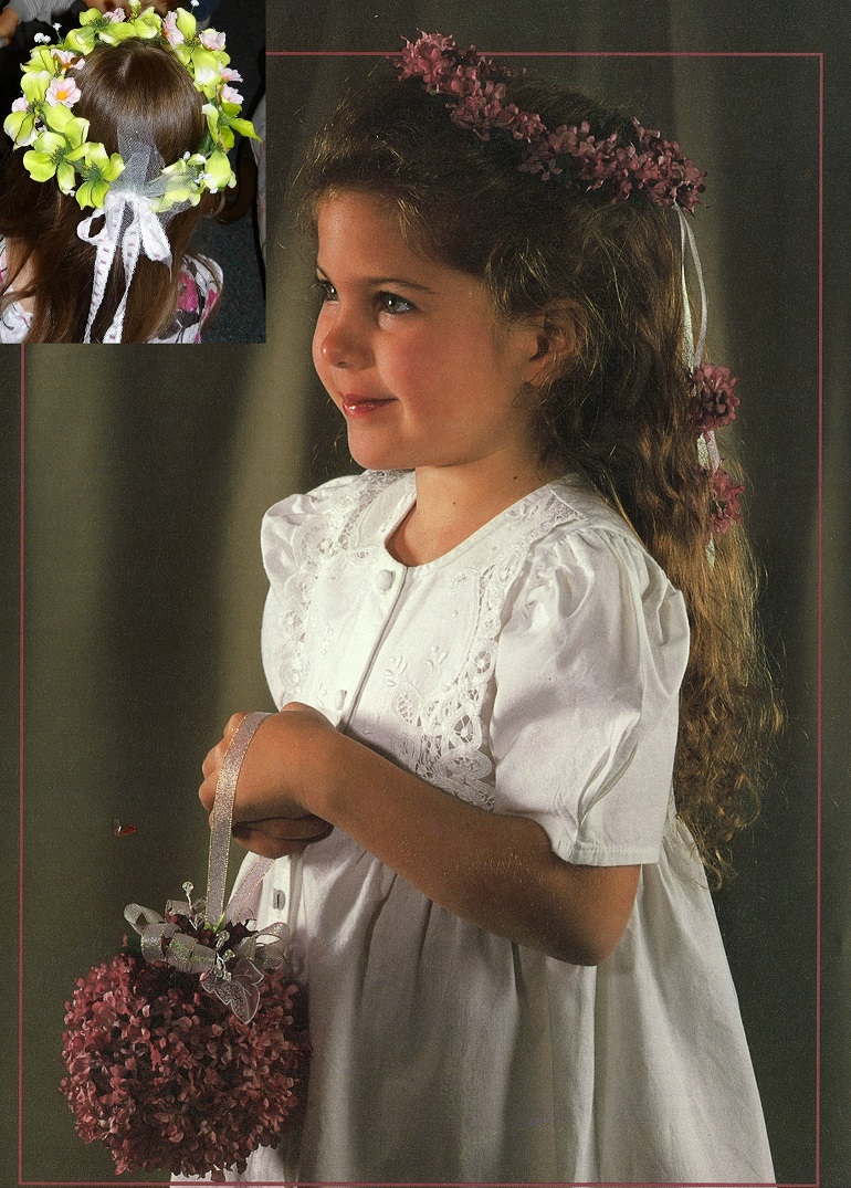 Flower Girl Circlet