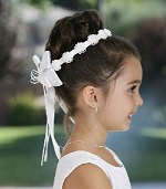 Flower Girl Hair Band