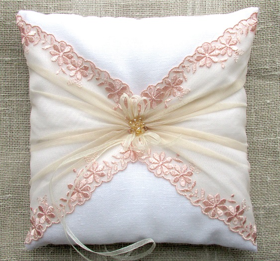 Square Ring Pillow