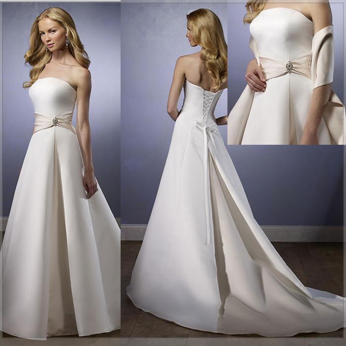 Dresses dreamstar designs for Simple designer wedding dresses