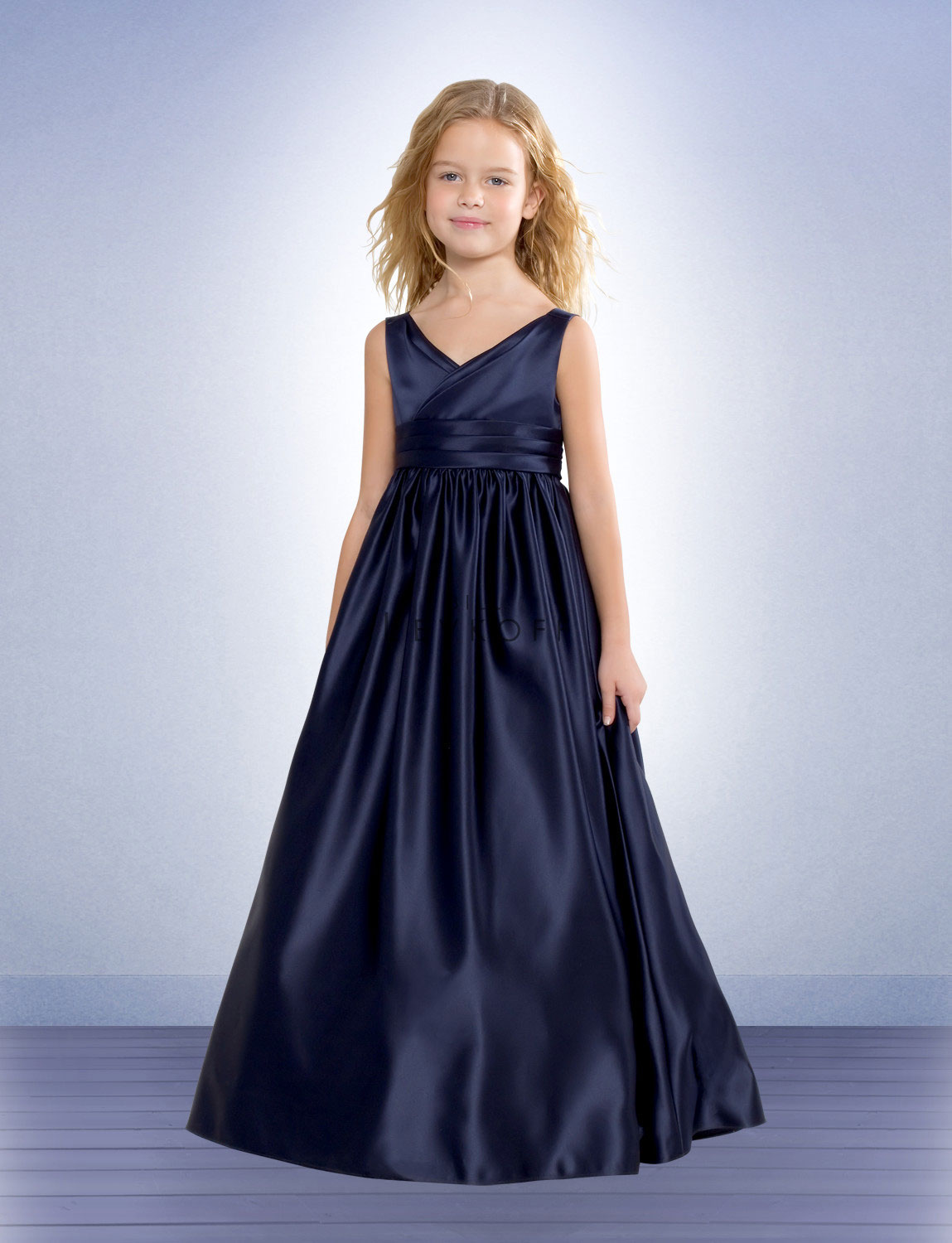 Floor Length Satin