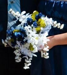 Custom Silk Flower Bouquet
