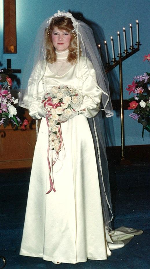 Old Style Wedding Dress